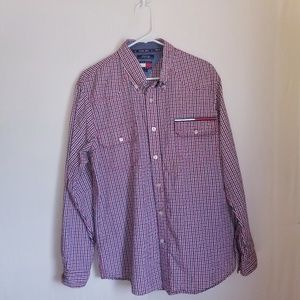 Tommy hilfiger jeans button down long sleeve L